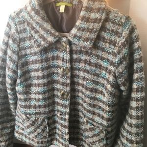 Vintage Sigrid Olsen Boucle Tweed Jacket Size L